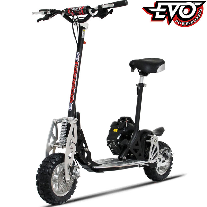Evo 2x Big 50cc Powerboard Gas Scooter Review | Featured